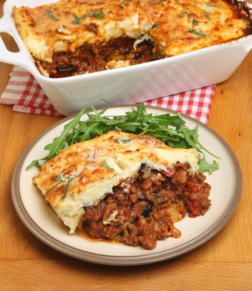 Moussaka Authentic And Traditional Greek Recipe: Authentic Lamb Moussaka